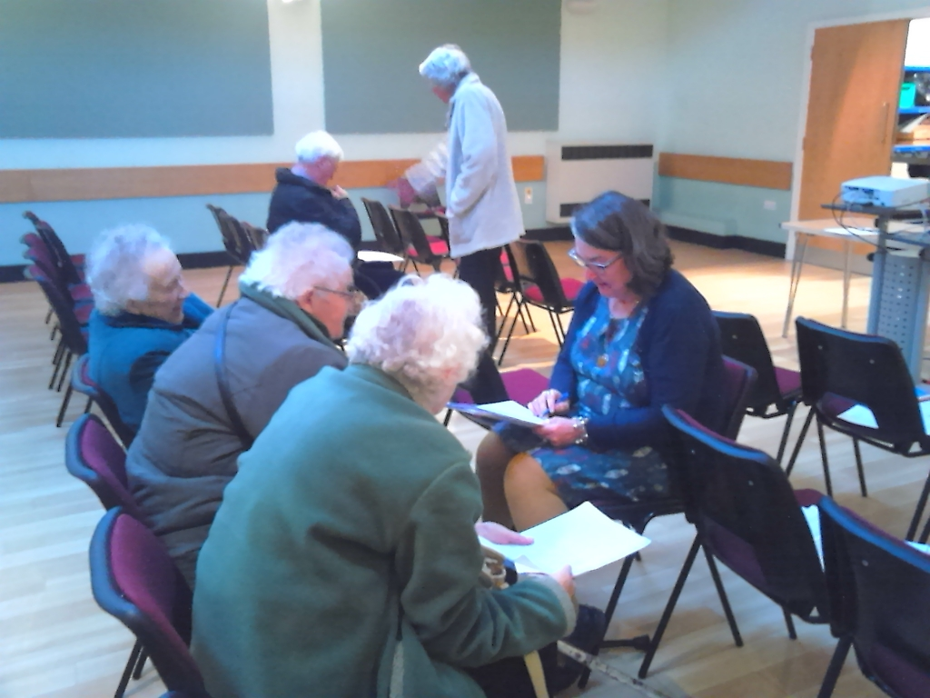 Over 60s Support Event